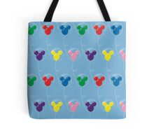 Mickey Balloons with Bubble - Pattern Tote Bag