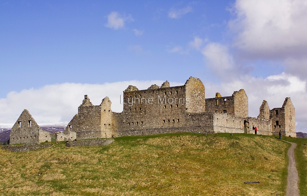 Ruthven Barracks by Lynne Morris