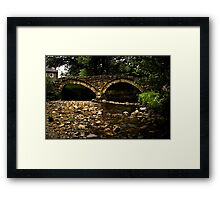 Wycoller Bridge Framed Print