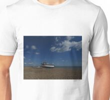 Shingle, Boats, and Puffy White Clouds Unisex T-Shirt