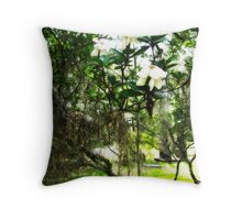 Beauty Amidst the Chaos Throw Pillow