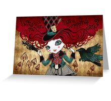 Mad Riddle Greeting Card