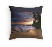 Makena Gold Throw Pillow
