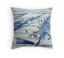 The Boat People Throw Pillow