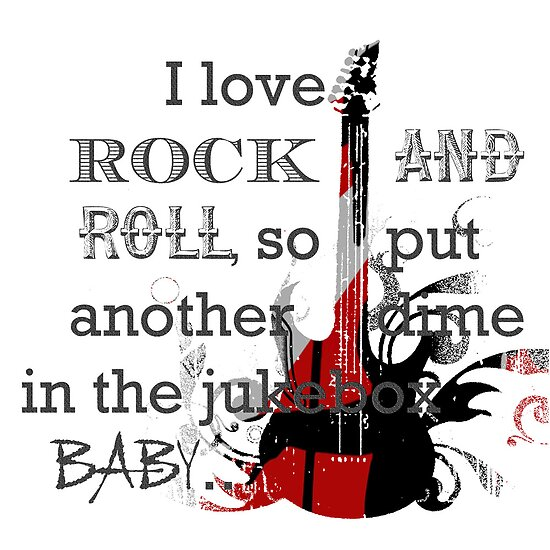 I LOVE ROCK AND ROLL! by AmbientKreation