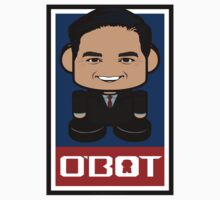 Marco Rubio Politico'bot Toy Robot 2.0 One Piece - Short Sleeve