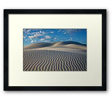 Super Dune Framed Print