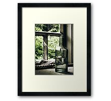 18.6.2010: Bottle full of Oblivion Framed Print