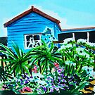 Blue Cottage by marlene veronique holdsworth