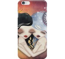Emma & Gemma (Gemini) ~ Zodiac Series iPhone Case/Skin
