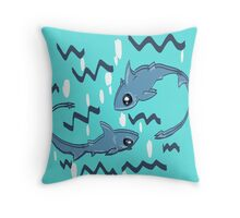 shark week themes Throw Pillow