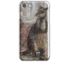On the Wallaby Track Again. iPhone Case/Skin