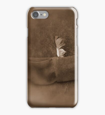 Feather in His Cap iPhone Case/Skin