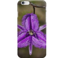 Fringe lily iPhone Case/Skin