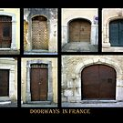 """""""Doorways in France 2"""" by Mary Taylor"""