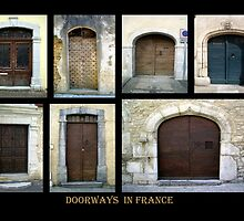 """Doorways in France 2"" by Mary Taylor"