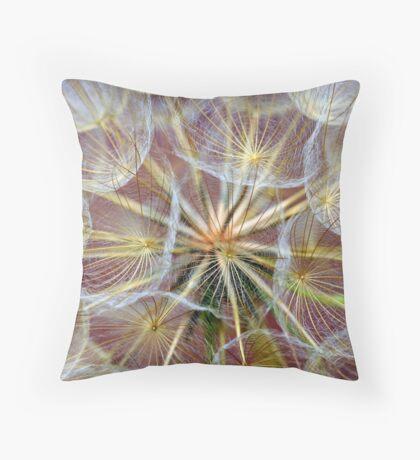 '' Dandelion  II   '' Throw Pillow