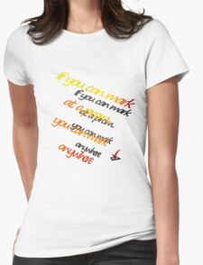 Marking Womens Fitted T-Shirt