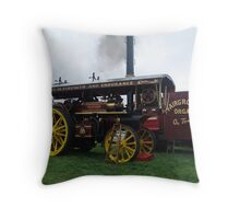 Old Steam Engine 4 Throw Pillow