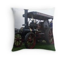 Old Steam Engine 6 Throw Pillow