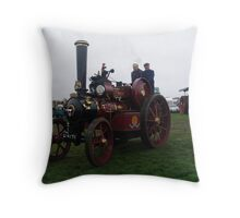 Old Steam Engine 7 Throw Pillow