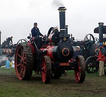 Old Steam Engine 8 by Feesbay