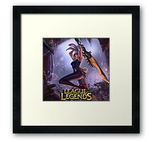LEAGUE OF LEGENDS RIVEN Framed Print