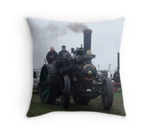 Old Steam Engine 12 Throw Pillow