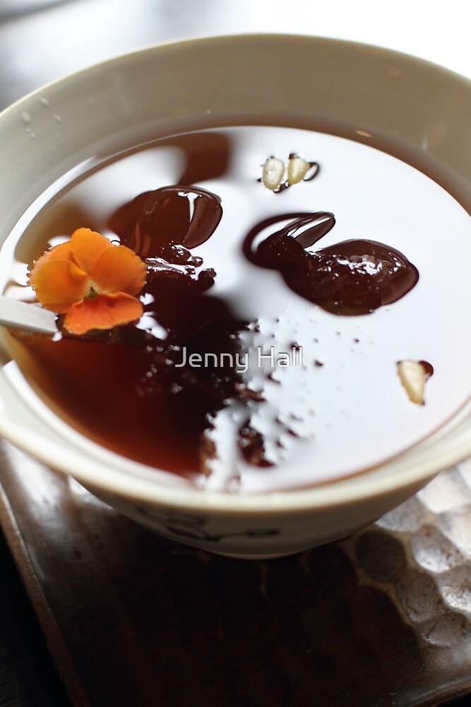 Iced plum tea by Jenny Hall