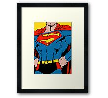 Superman - Stylized Digitally painted  Framed Print