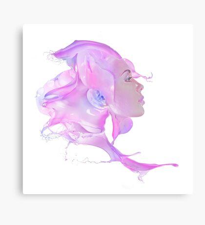Candy Hair Canvas Print