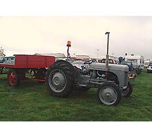 Old Tractor Massey Ferguson Photographic Print