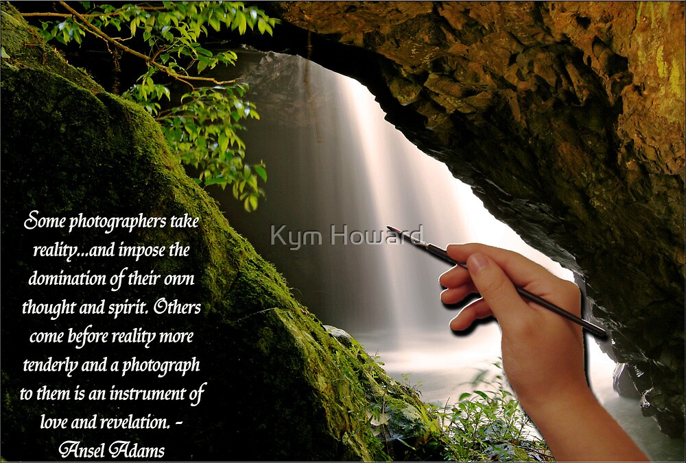 Some Photographers........Ansel Adams by Kym Howard