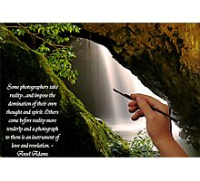Some Photographers........Ansel Adams Photographic Print