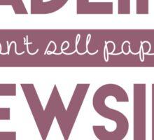 Headlines Sticker