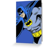 The Batman Greeting Card