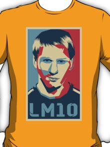 Leo Messi - Political Style T-Shirt