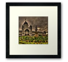 Victorian Majesty #3 , Melbourne -Royal Exhibition Building & Carlton Gardens - The HDR Experience Framed Print