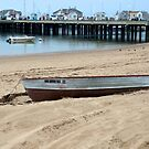 Beached Boat by DarylE