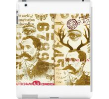 Vintage tag 5 iPad Case/Skin