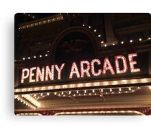 Penny Arcade Canvas Print