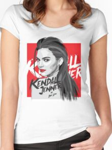 Kendall Jenner Women's Fitted Scoop T-Shirt