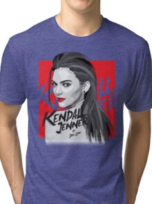 Kendall Jenner Tri-blend T-Shirt