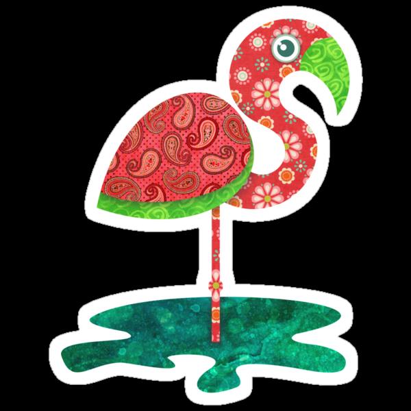 Flamingo by sandygrafik