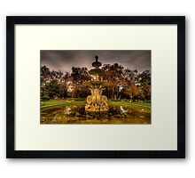 Victorian Majesty #2 , Melbourne -Royal Exhibition Building & Carlton Gardens - The HDR Experience Framed Print