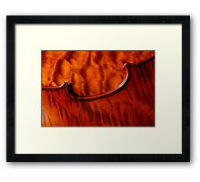 Quilt/Flame Framed Print