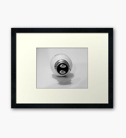 Base Light Framed Print