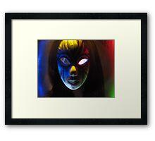 Grim Knight Framed Print