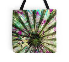 """Alien """"Mother of Pearl"""" Daisy (Abstract) Tote Bag"""