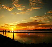 Gulfport Sunset by Jonicool